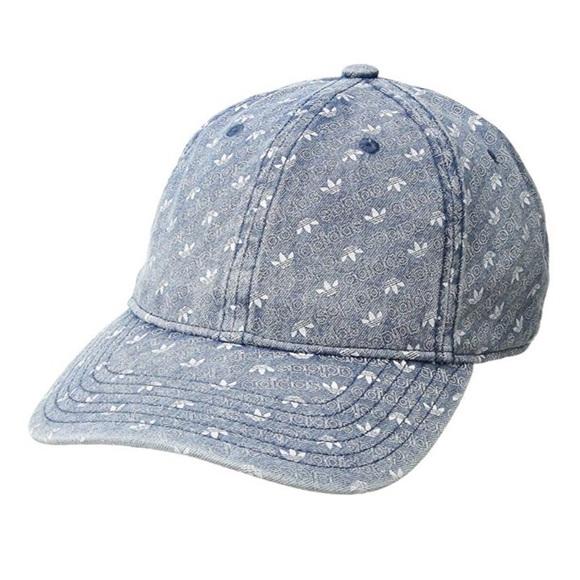 d5e718f528c Adidas Originals Denim Monogram Baseball Hat